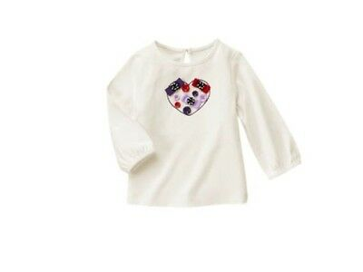 Gymboree Girls Hoho Shop Penguin Winter shirt Holiday Christmas Nwt Size 2t