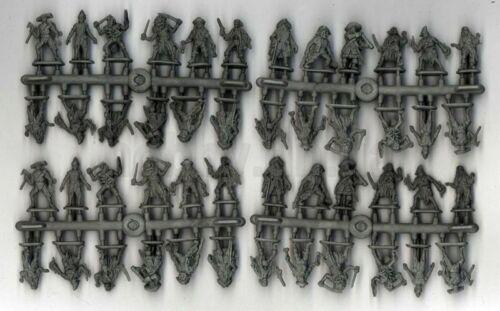 Mars Figures 72070-1//72 Scale Plastic Model Kit Zombie Pirates model kit