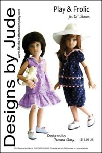 Play-amp-Frolic-Doll-Clothes-Sewing-Pattern-for-12-034-Senson-Dolls