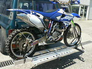 Image Is Loading 2x Mo Tow Motorcycle Towbar Carrier Rack Carry