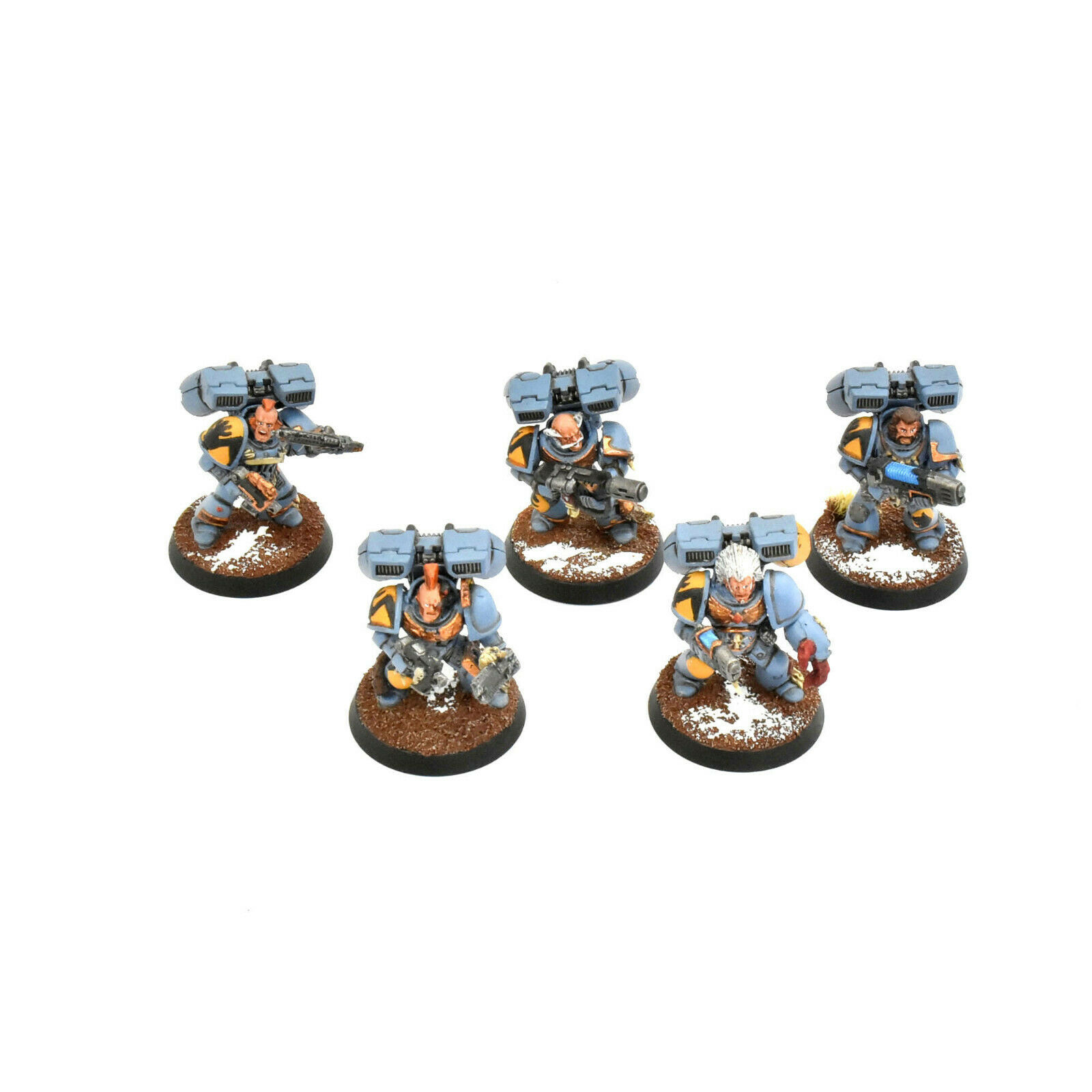 SPACE WOLVES 5 skyclaws  2 PRO PAINTED Warhammer 40K