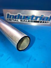 """12 inches long 6063-T52 Aluminum Round Tube 3 inch OD 0.065/"""" wall"""