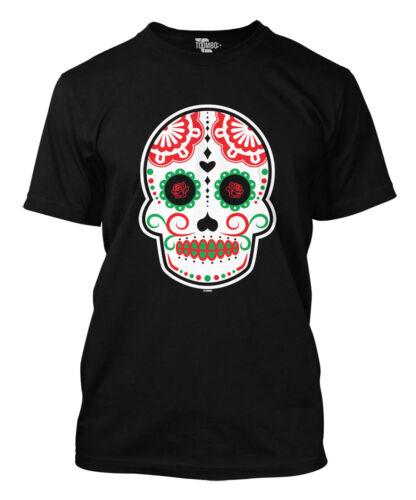 Mexico Celebration Drink Mask Margarita Mens T-Shirt Cinco De Mayo Skull