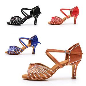 Dettagli su Scarpe ballo Da donna Donna da Ballo Latino Sala tango da Ballo Scarpe da ballo