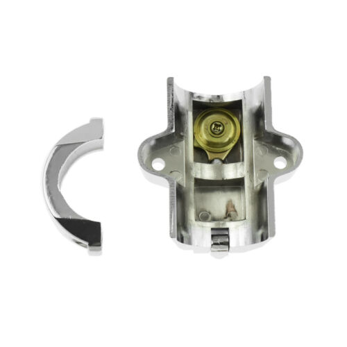 "7//8/"" to 1-1//4/"" 25-32mm Tube Helmet Lock w//2 Keys Fit For Honda Yamaha Chrome"
