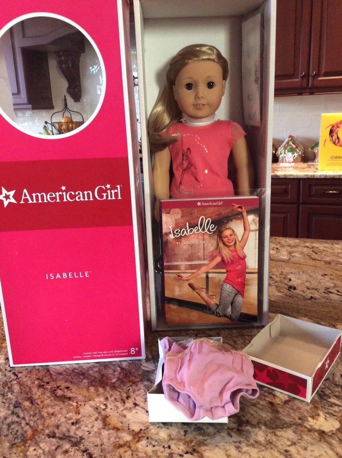 Nueva Muñeca American Girl Isabelle y libro con Leotardo Nuevo En Caja
