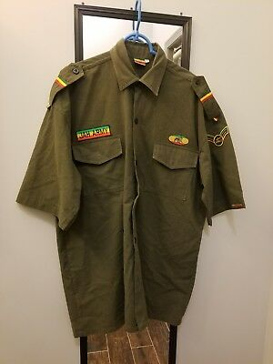 Original Roots Rasta Reggae Men's Shirt XXL
