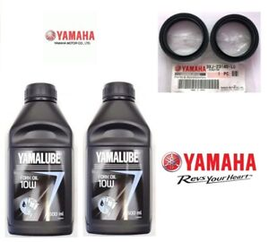 Set-Oil-Fork-1-L-Yamalube-10W-2-Oil-Seals-Original-Yamaha-MT-10-1000-2018