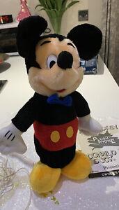 Vintage-Mickey-Mouse-Plush-Telephone-Super-Rare