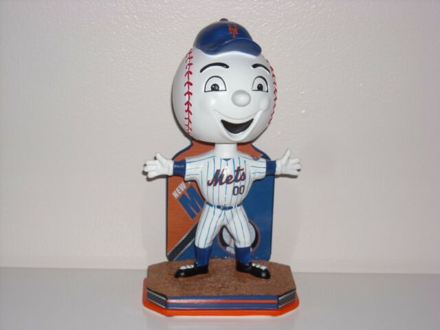 MR. MET New York Mets Mascot Bobble Head 2016 Limited Edition MLB* *New*