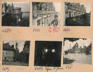 AMBOISE - 32 Photos Vues sur la Ville Château Indre et Loire - Pl 621 - France - Centre Val de Loire . Planche contact.22 photos tirage vers 1950 d'aprs négatif 1900-20, 4,5 cm x 4 cm,10 photos tirage c.1950, 5,5 cm x 5,5 cm environ Photos Goldner Tarifs livraisons internationales multiples: Envoi recommandé partir de 50€ - France