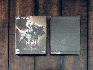 PS4-Nioh-2-Collector-039-s-Special-Edition-Empty-Box-BOX-ONLY-NO-GAME