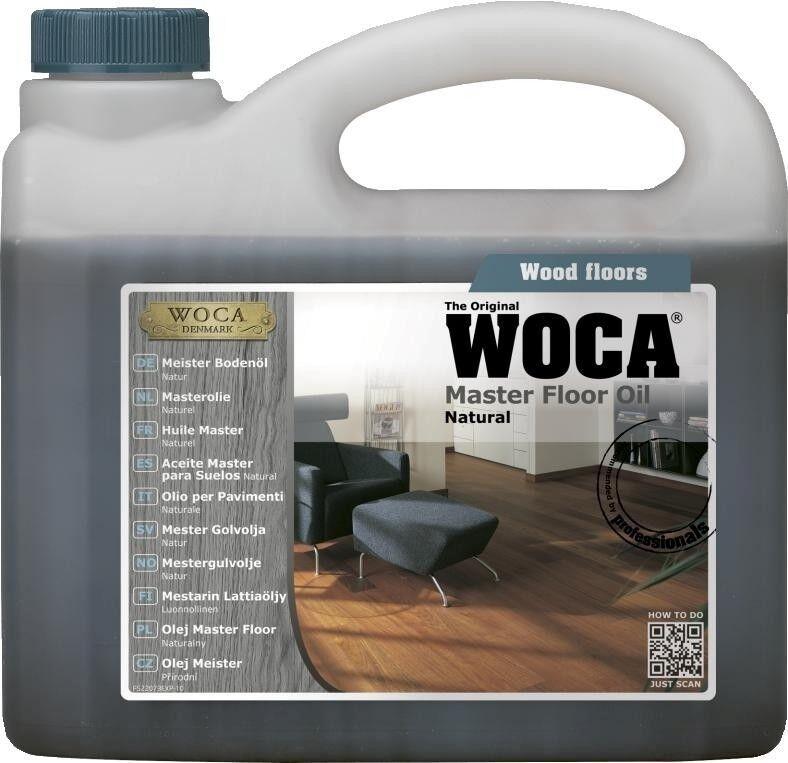 2,5L WOCA Meister Bodenöl Natur