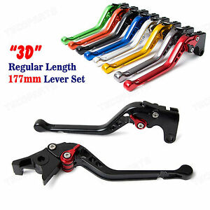 For DT125RE 2004-2007 CNC Clutch Brake levers YAMAHA Short//Long