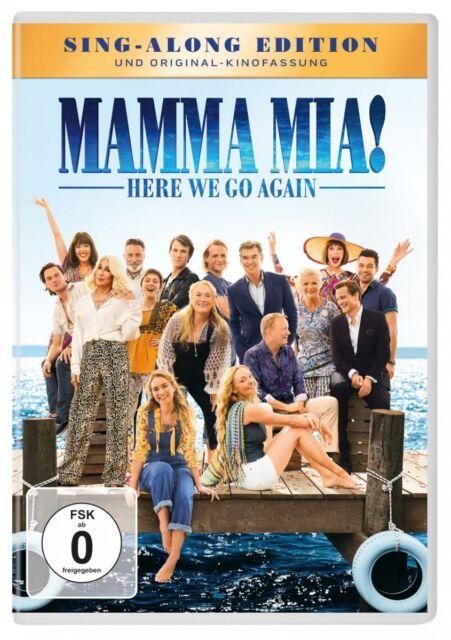 Ol Parker - Mamma Mia! 2 - Here We Go Again, 1 DVD