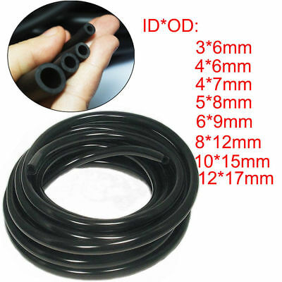 CLEAR FUEL LINE PIPE HOSE 7MM OD X 5MM ID ENGINE LAWNMOWER SCOOTER 20CC 49CC