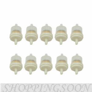 Details about 10 PCS Gas Inline Fuel Filter Rep For Kawasaki Kohler