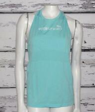 LULULEMON~HEATHER ANGEL BLUE *SWIFTLY TECH TANK* HIGH-NECK RACER-BACK TOP~12