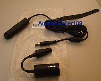 Genuine Dell P566m Auto/plane Dc Adapter Latitude D800 D810 D830 X300 E4200