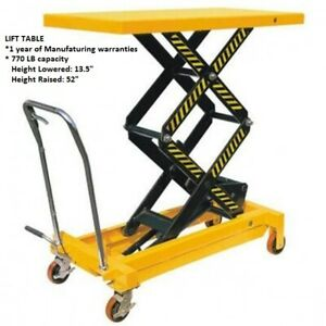 Manual-Lift-Table-with-770-LB-capacity