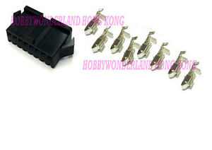 JST-SM-2-5-8-Pin-Female-Connector-Housing-Plug-with-crimp-terminal-x-30-SETS