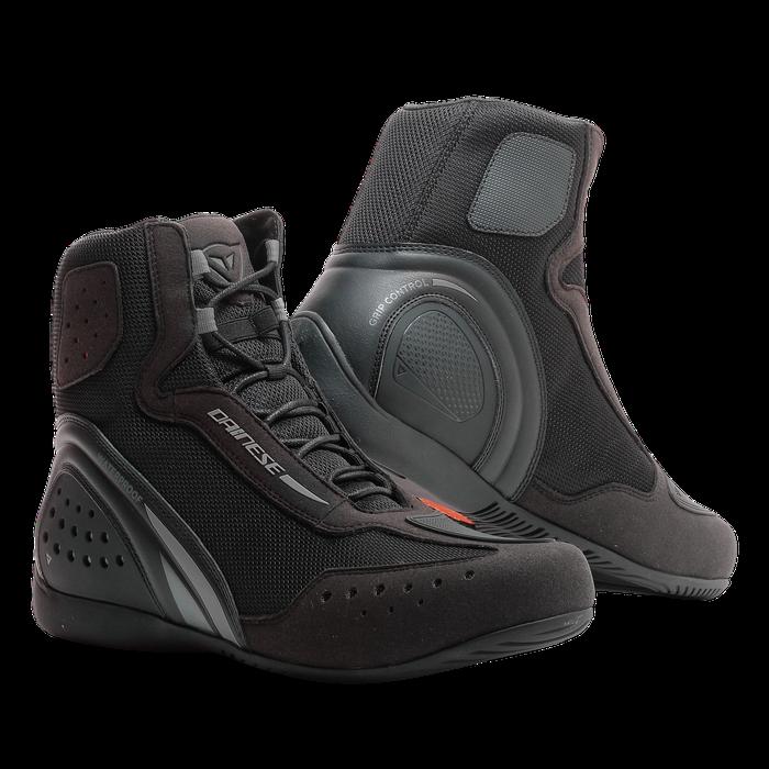 Schuhe Motorroller Dainese Motorschuhe D1 Air schwarz Anthrazit schwarz Schuhe