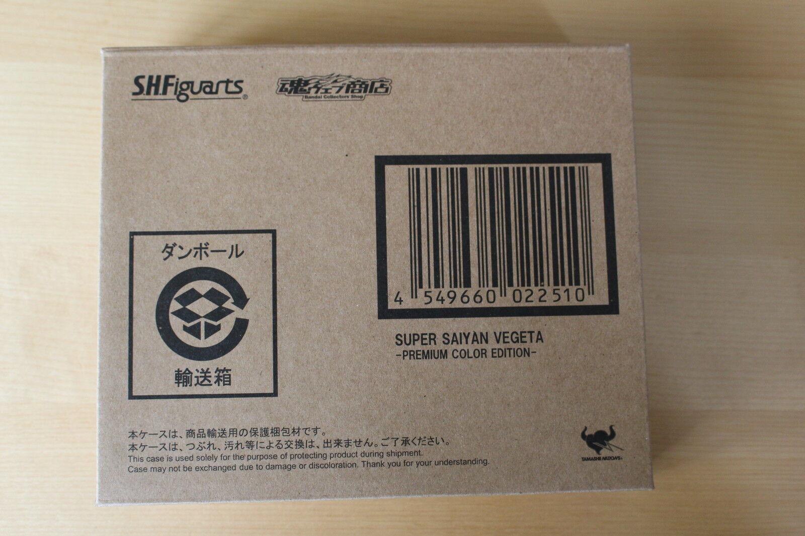 S.H. FIGUARTS BANDAI DRAGON BALL SUPER VEGETA PREMIUM COLOR EDITION JAPAN NEW