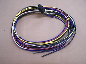 starcraft jayco 8 way plug wiring harness ebay rh ebay com Wiring Harness Diagram Wiring Harness Diagram