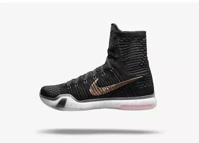 Nike Kobe 10 X Elite Rose Gold SZ 14