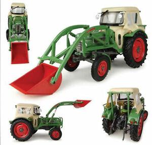 Fendt Farmer 2 With Cabin & Front Loader Traktor Tractor 1:3 2 Modell 4946