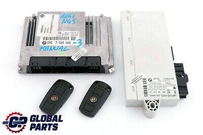BMW E87 E90 1 3/'ies 1.6i N45 ENGINE ECU SET DME CAS IGNITION LOCK KEY START//STOP