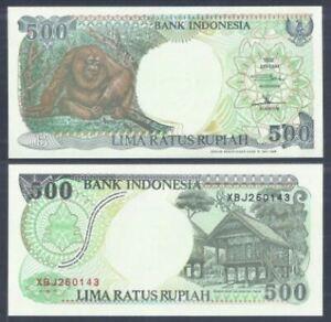 Indonesia-500-Rupiah-1992-Replacement-UNC-500-1992-XBJ260143