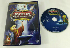 DVD-Disney-VF-Merlin-l-Enchanteur-Edition-exclusive-Losange-n-20-Envoi-suivi