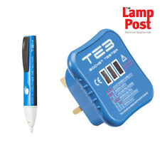 Draper 82384 13A Socket Tester and Non-Contact Voltage Tester 600V