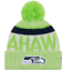 NEW-ERA-2017-18-SPORT-KNIT-NFL-Onfield-Sideline-Beanie-Winter-Pom-Knit-Cap-Hat thumbnail 23