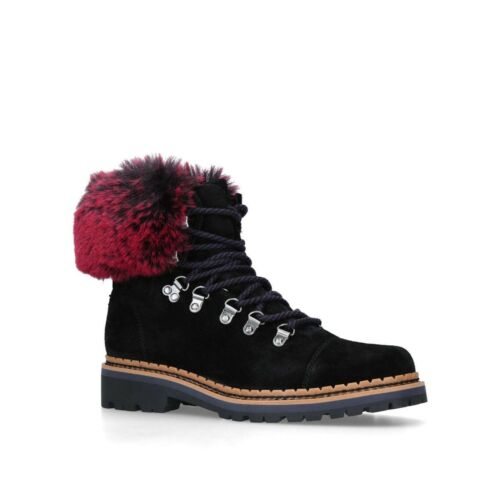 BNWT SAM EDELMAN BLACK BIKER BOOTS SHOES Size 7/40 RRP £140