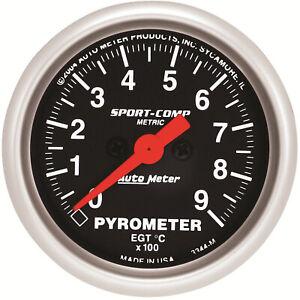 Autometer AMT-3344M Gauge, Sport-Comp, Pyrometer (EGT), 2 1/16 in., 900 Degrees
