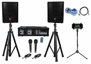 Rockville-Dual-10-034-Android-iphone-ipad-Laptop-TV-Youtube-Karaoke-Machine-System
