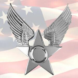 U.S. AIR FORCE HONOR GUARD CAP BADGE   USA   GENUINE   USAF
