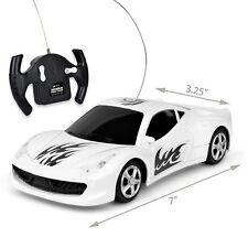 Nitrous Street Racer Super Quick R/C Car w/Working Headlights - 27MHz (White)