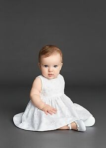 b00bd0e8 Image is loading DOLCE-AND-GABBANA-BABY-GIRLS-WHITE-DRESS-18-