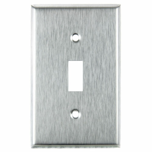 Steel FREE SHIPPING US!!! Wall Switch Plate Outlet Cover Toggle Duplex Rocker