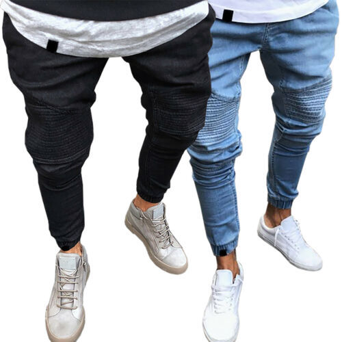 Slim Jeans Fit Motifs Pantalons Slim Biker Jeans Jeans Fit axxqHPgw