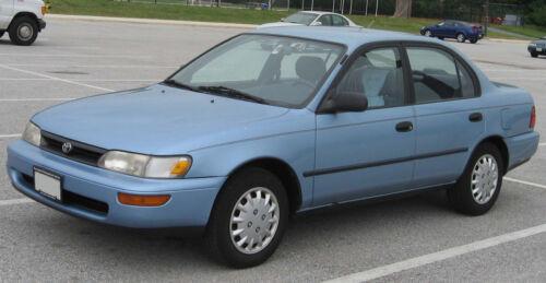 1991–1995 Toyota Corolla E100 AE100 AE101 EE100 EE101 door seal weatherstrip