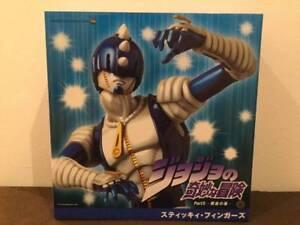 JoJo-039-s-Bizarre-Adventure-RAH-Real-Action-Heroes-Medicom-Toy-Sticky-Fingers-Rare