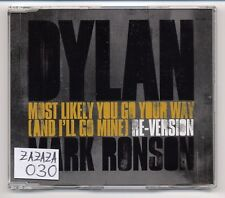Bob Dylan Maxi-CD Most Likely You Go Your Way MARK RONSON RE-VERSION - 2-track