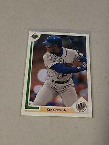 1991 Upper Deck Ken Griffey Jr Baseball Cards~Seattle Mariners~#555