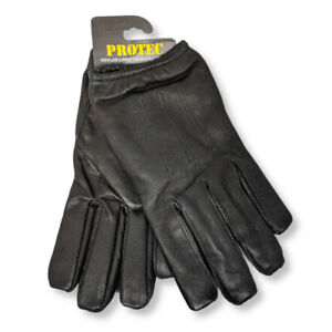 Protec-anti-slash-fire-resistant-black-leather-and-Kevlar-gloves-security-SIA