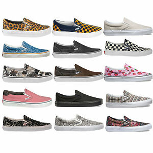 vans damen slip on
