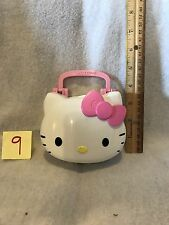 Hello Kitty Playset Museum Bunny And Mammoth Ride Carrying Case Super Cute!